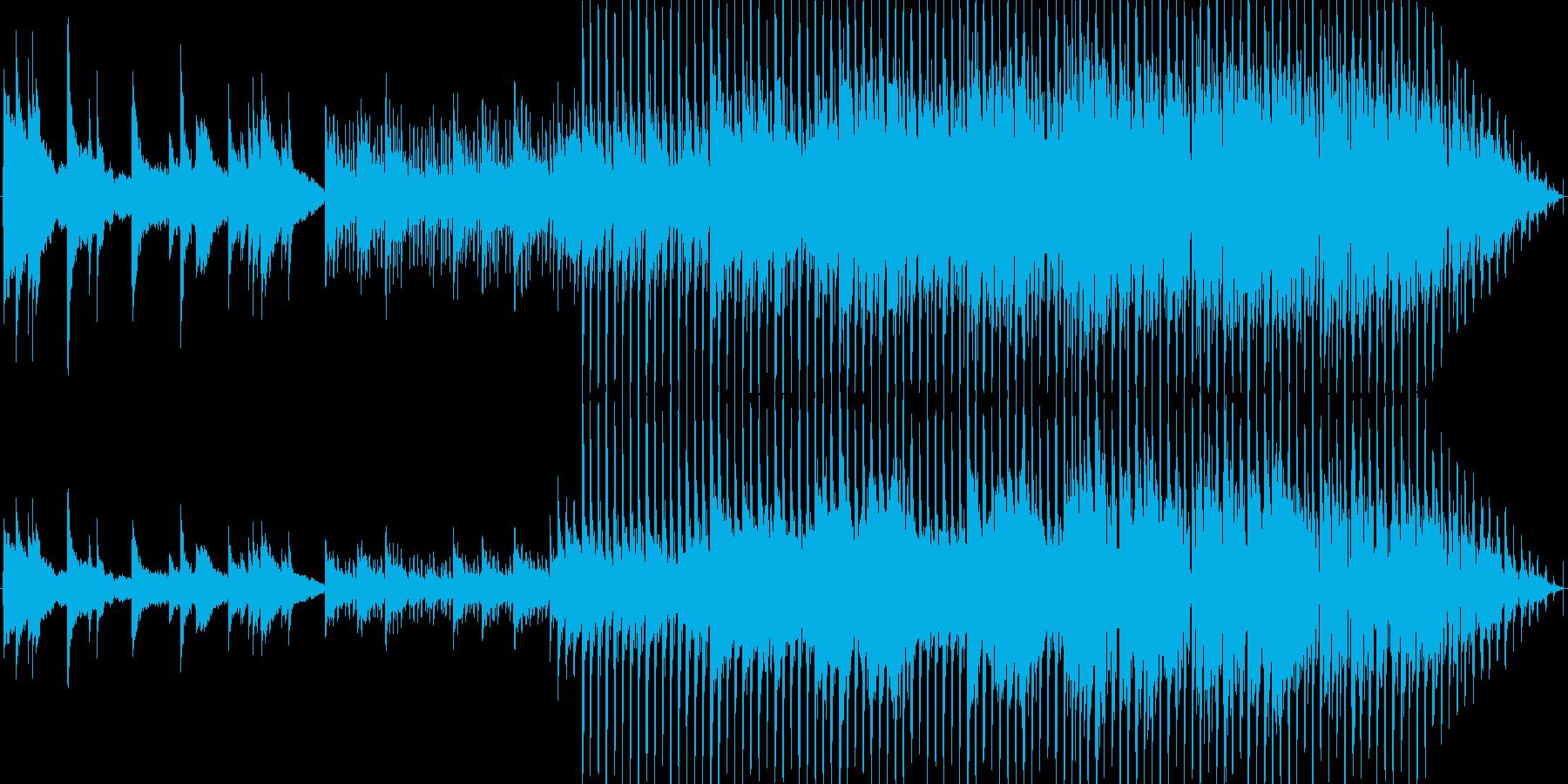 都会的な、おしゃれピアノハウスの再生済みの波形