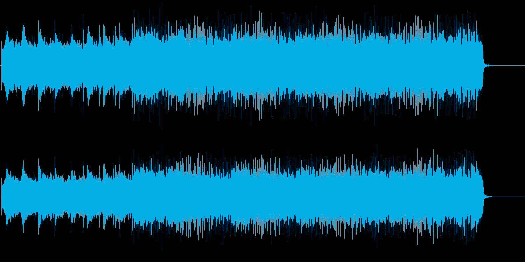 オープニング・テーマ向けヘビー・メタルの再生済みの波形