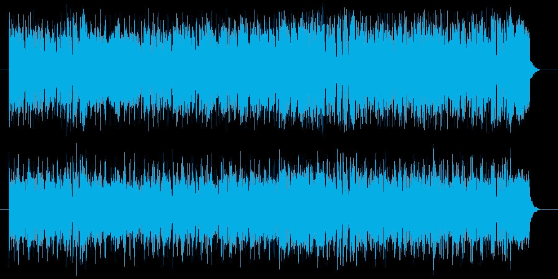 希望 青空 さわやか テーマ いきいきの再生済みの波形