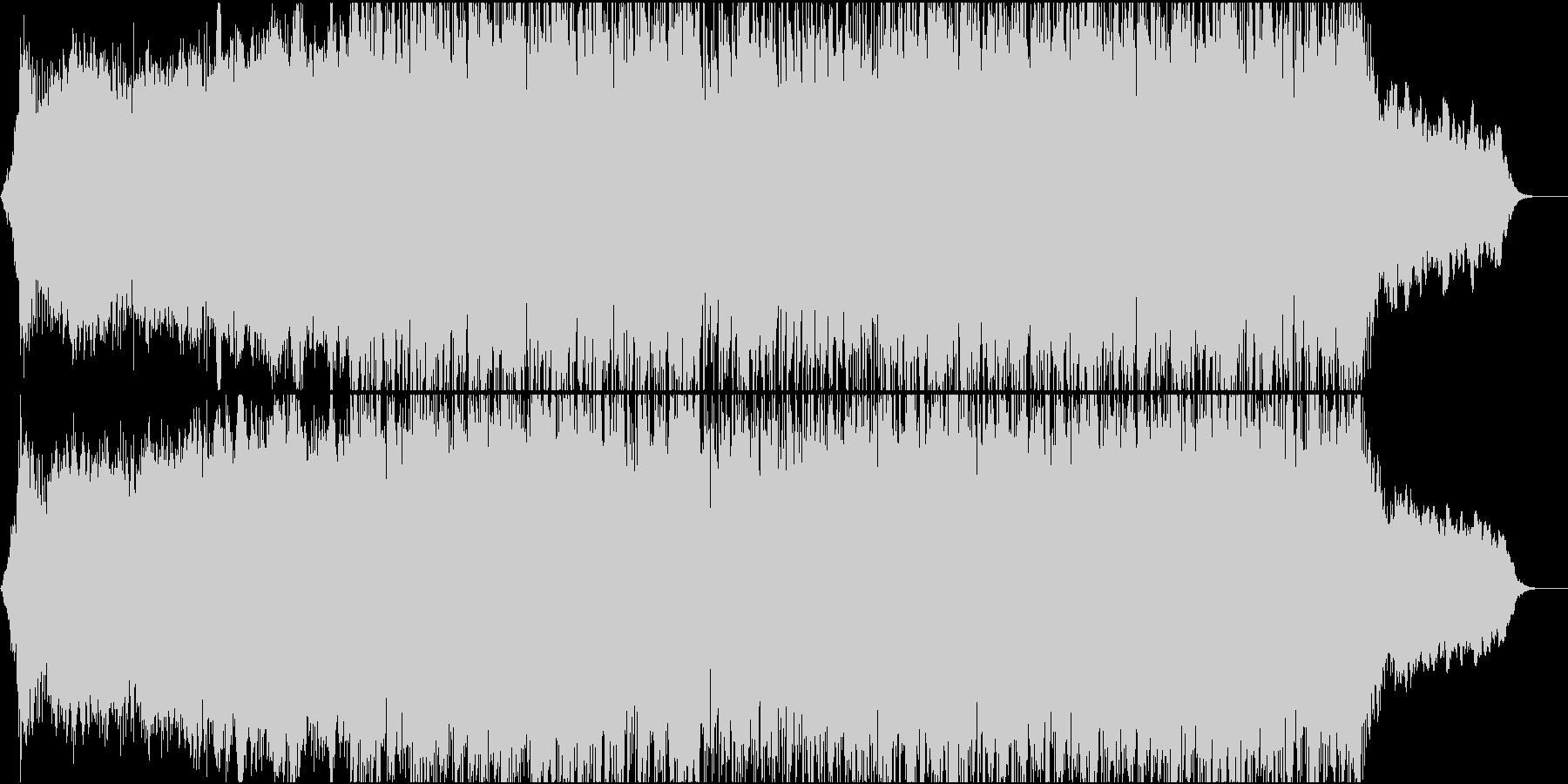 ギターと和太鼓☆緊迫感のあるBGMの未再生の波形