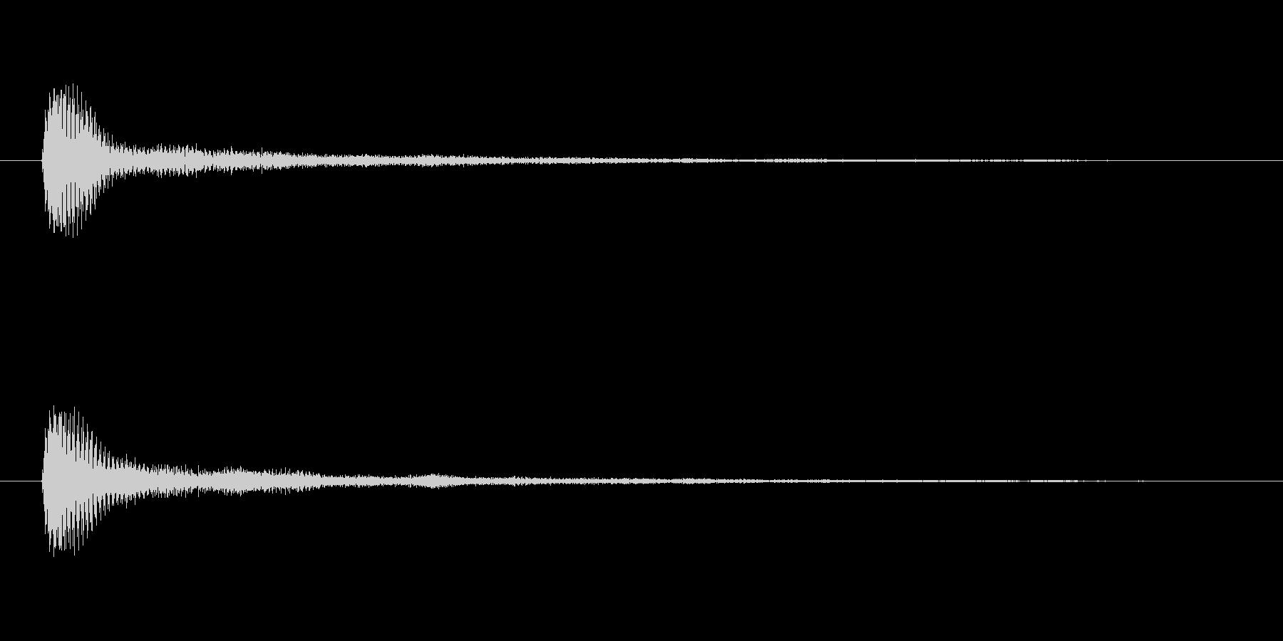 【サイバー06-2】の未再生の波形