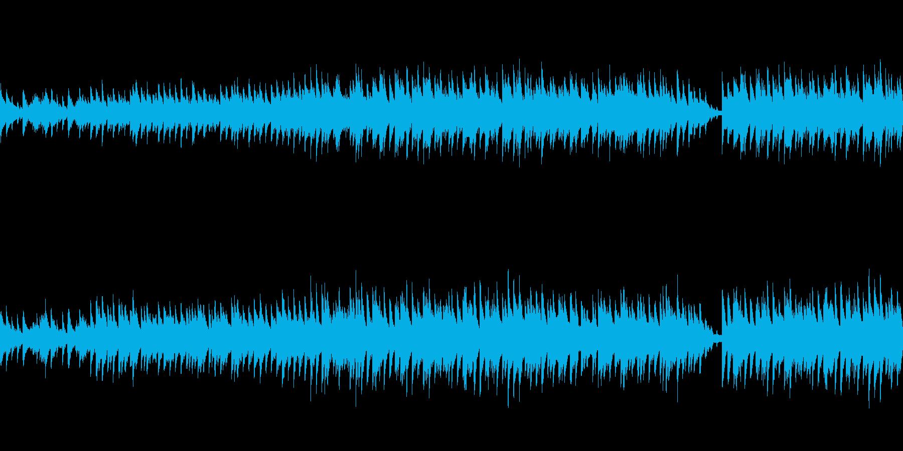 穏やかなピアノ曲3/ループ仕様の再生済みの波形