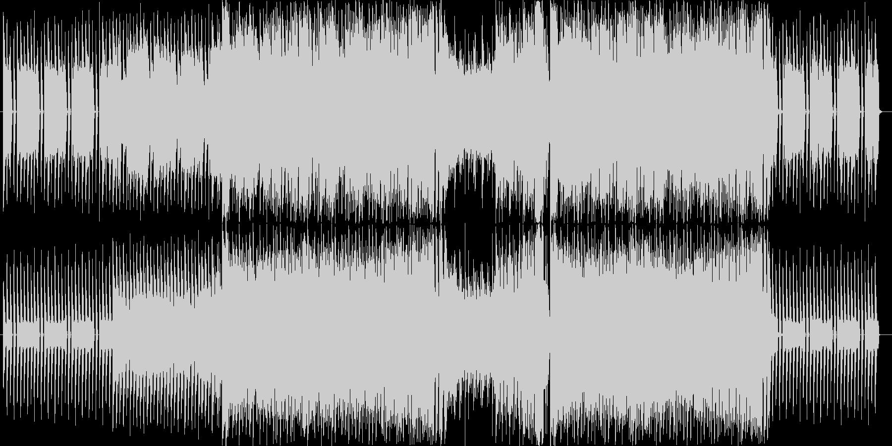 爽やかな四つ打ちギターポップの未再生の波形