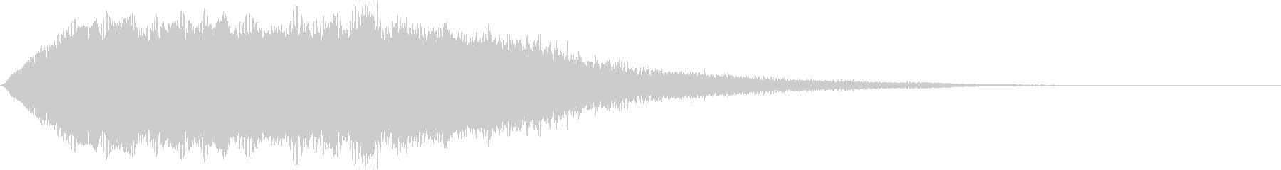 SFX ケミカルな昭和特撮風パッド 4の未再生の波形