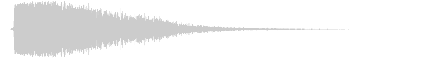 蒸発、蒸気 (短い) ジュワッの未再生の波形