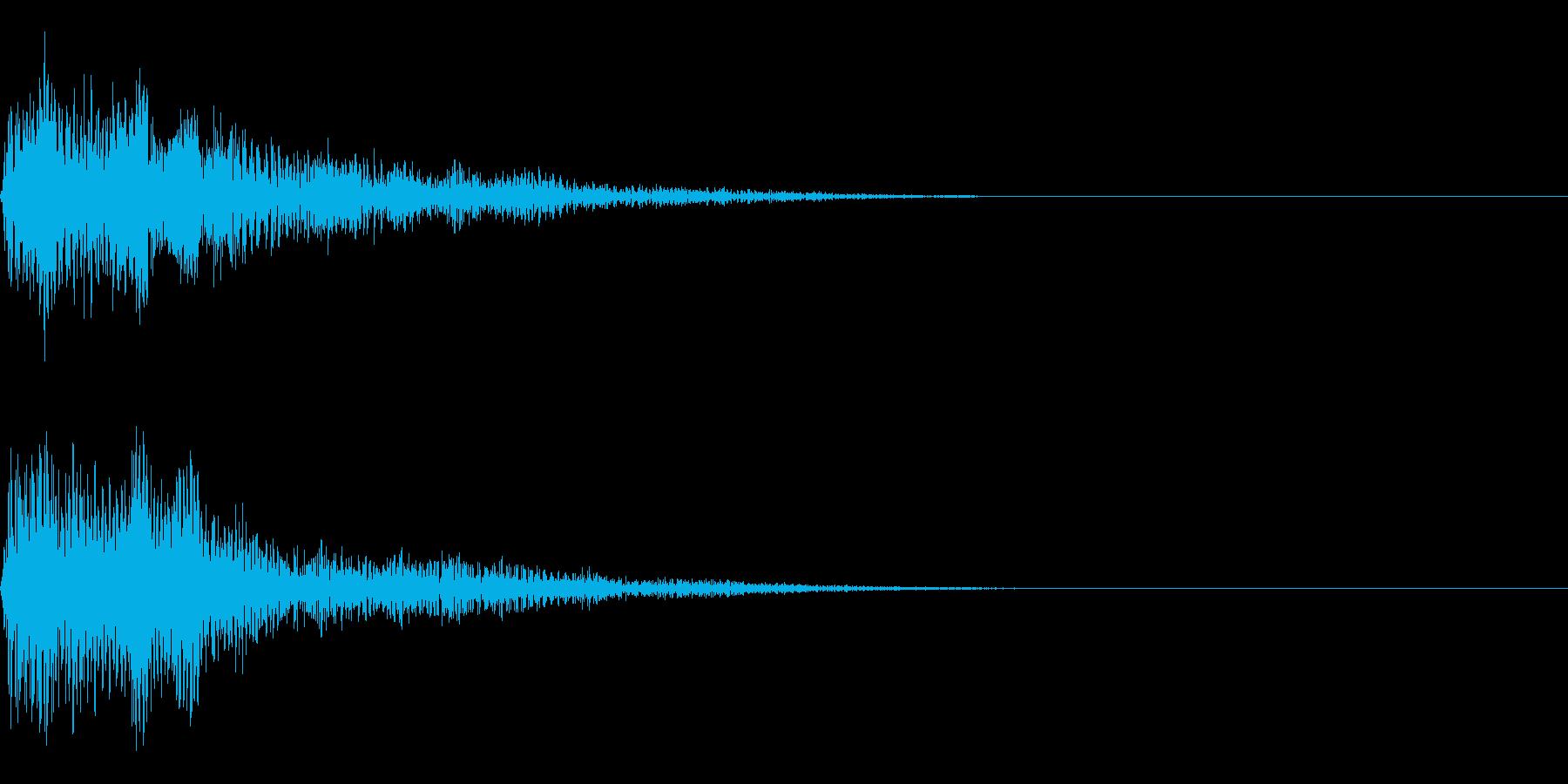 ニュースの効果音 スマートな音 の再生済みの波形