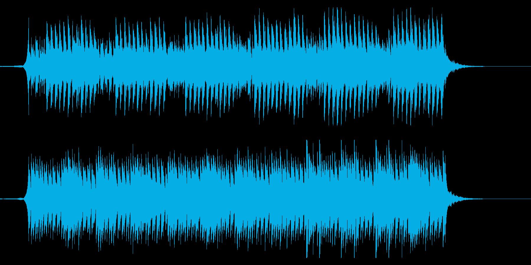 クラシックジングル 感動壮大なピアノの再生済みの波形