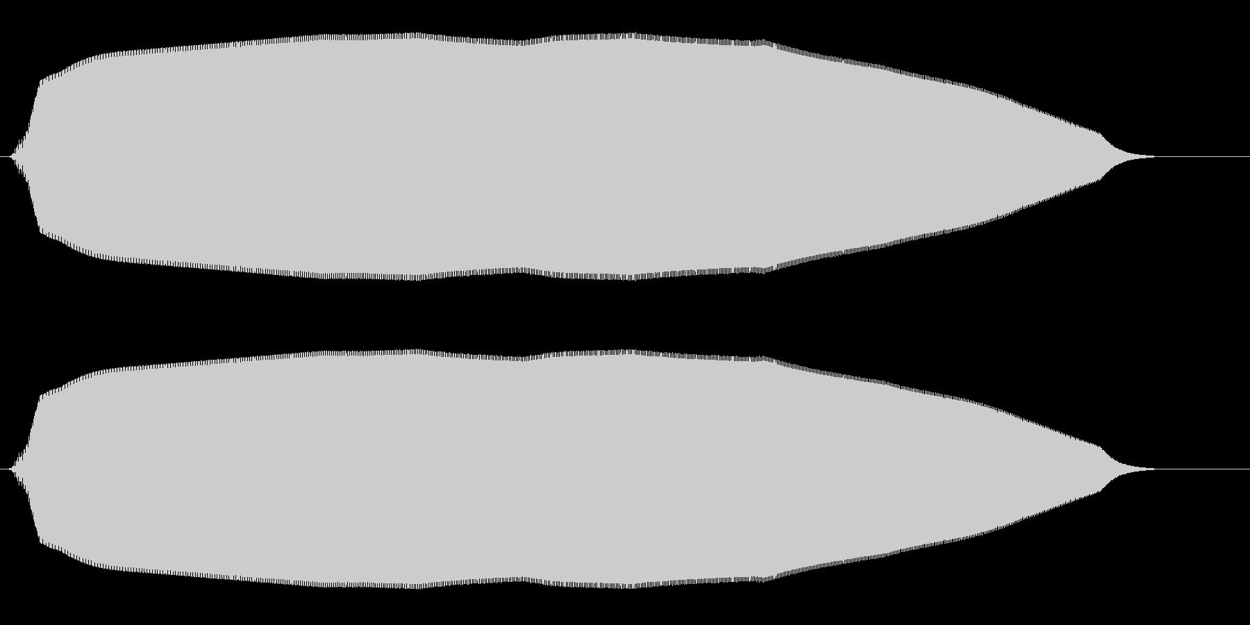 ヒュウーン(落下する物体の効果音)の未再生の波形