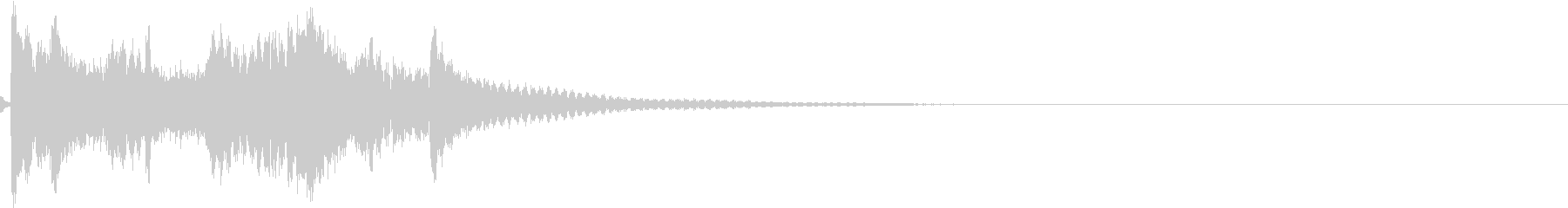 お正月 琴 和風 日本 和楽器 8の未再生の波形