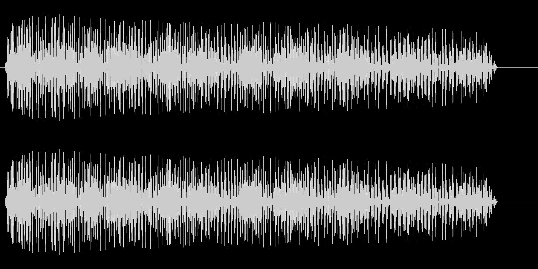 グワワワン(やられた音)の未再生の波形