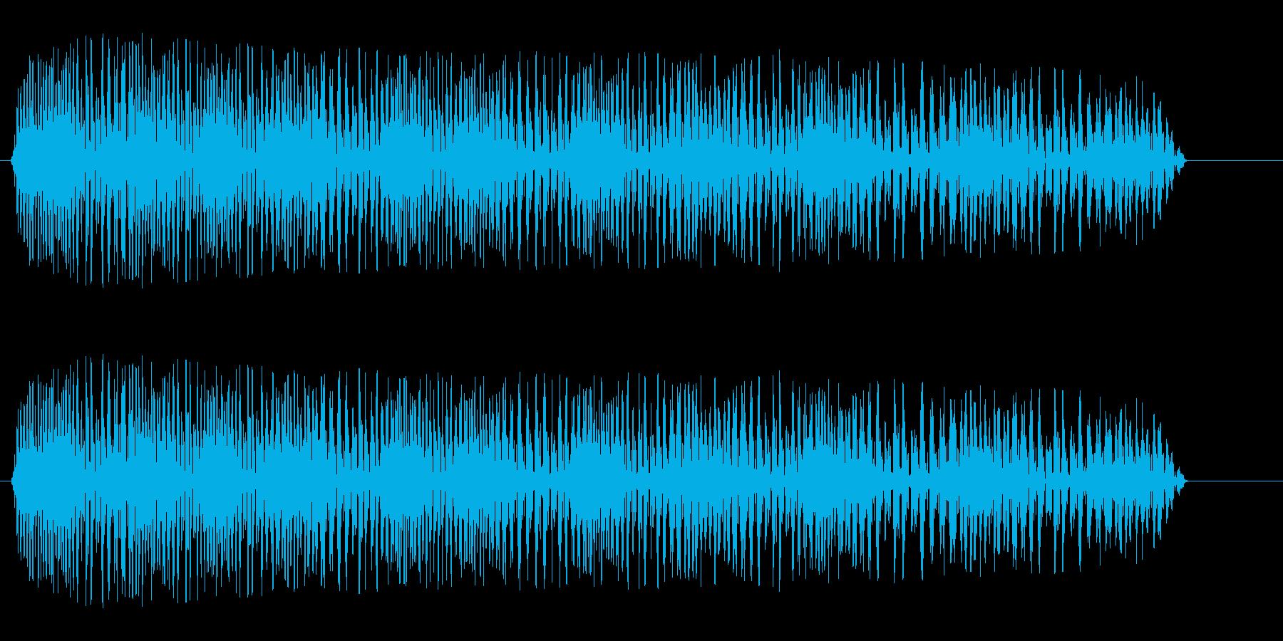 グワワワン(やられた音)の再生済みの波形
