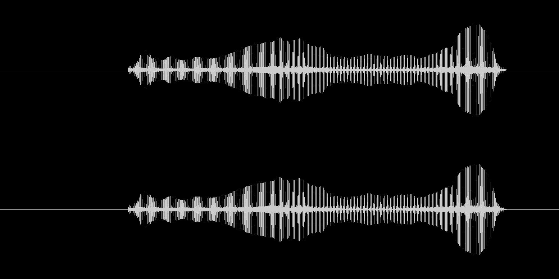 トロンボーンあるあるフレーズBPM180の未再生の波形