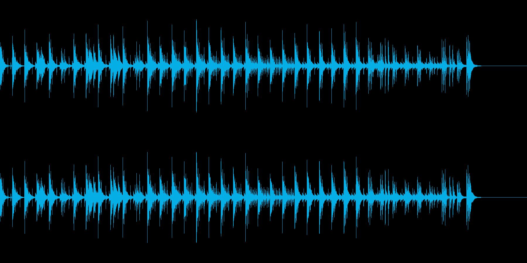 シンキングタイム 木琴の再生済みの波形