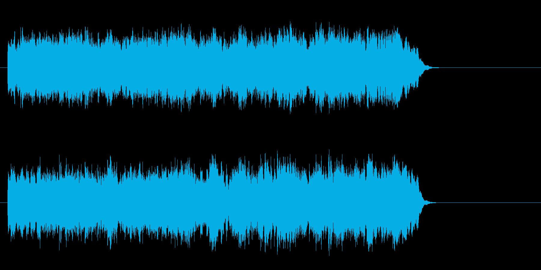 ウェディング風バラード(サビ)の再生済みの波形