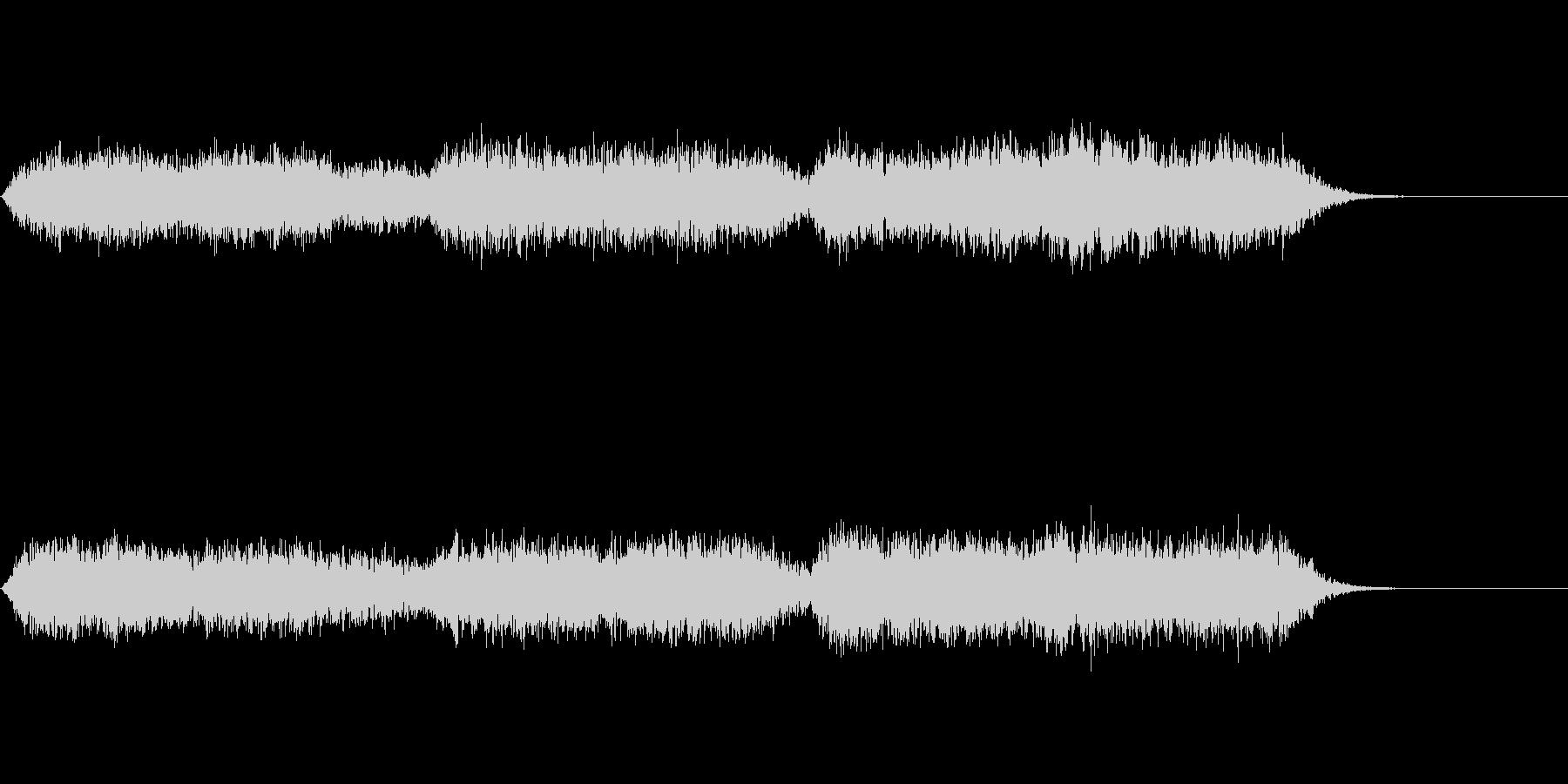 アンビエント的な1:54秒の音楽ですの未再生の波形