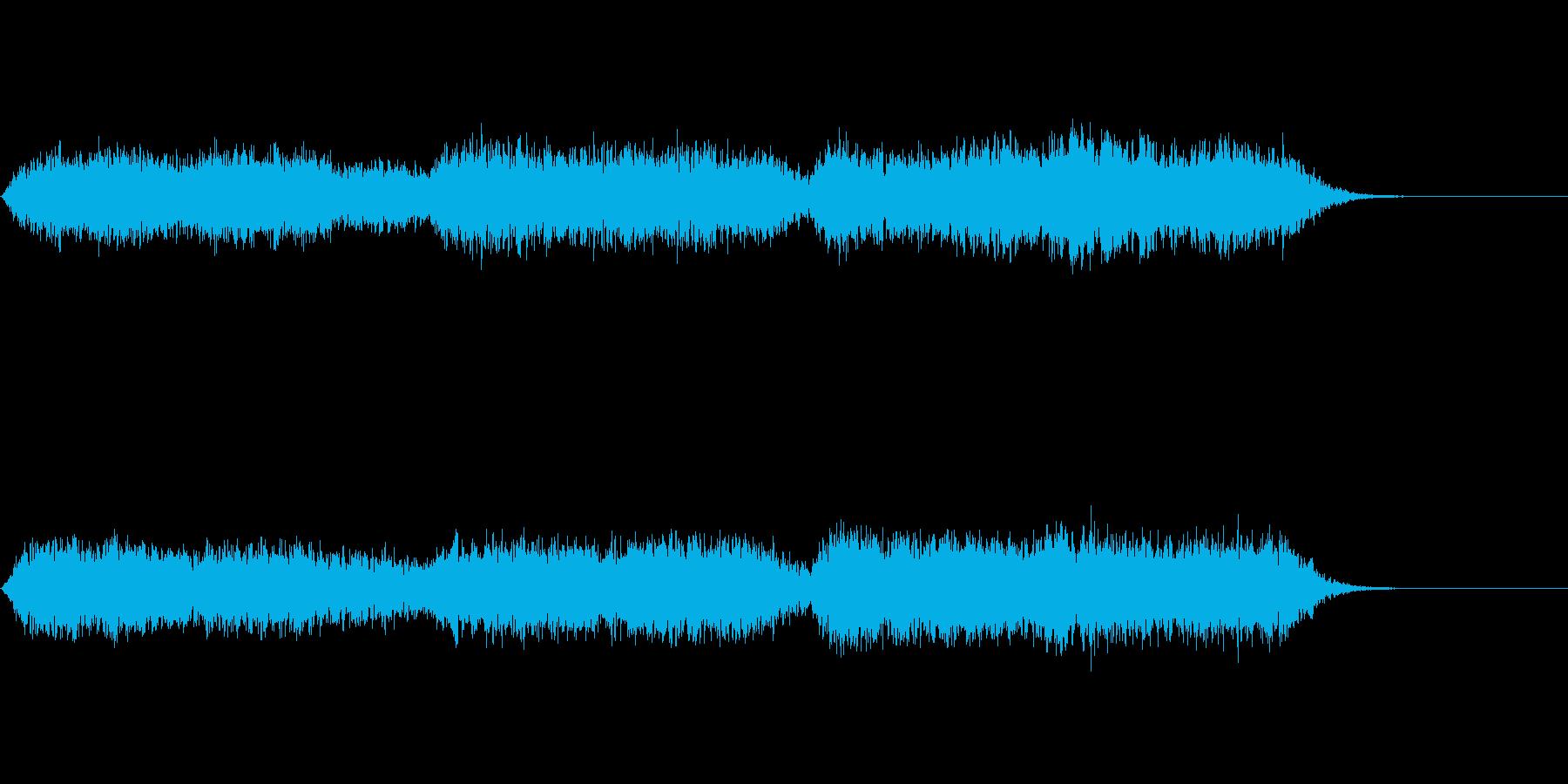 アンビエント的な1:54秒の音楽ですの再生済みの波形