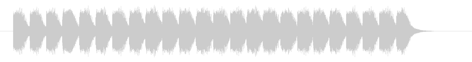 非常事態音の未再生の波形