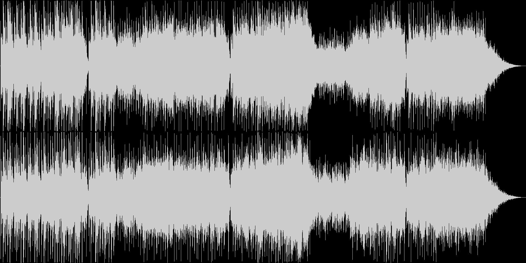 ザ・ラスト・ローズ・オブ・サマー庭の千草の未再生の波形