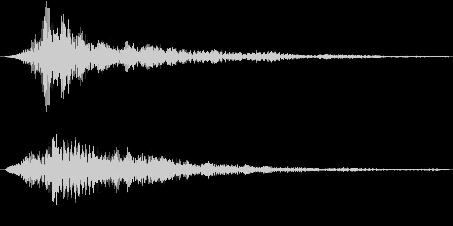 サウンドロゴ4(ワーン)の未再生の波形