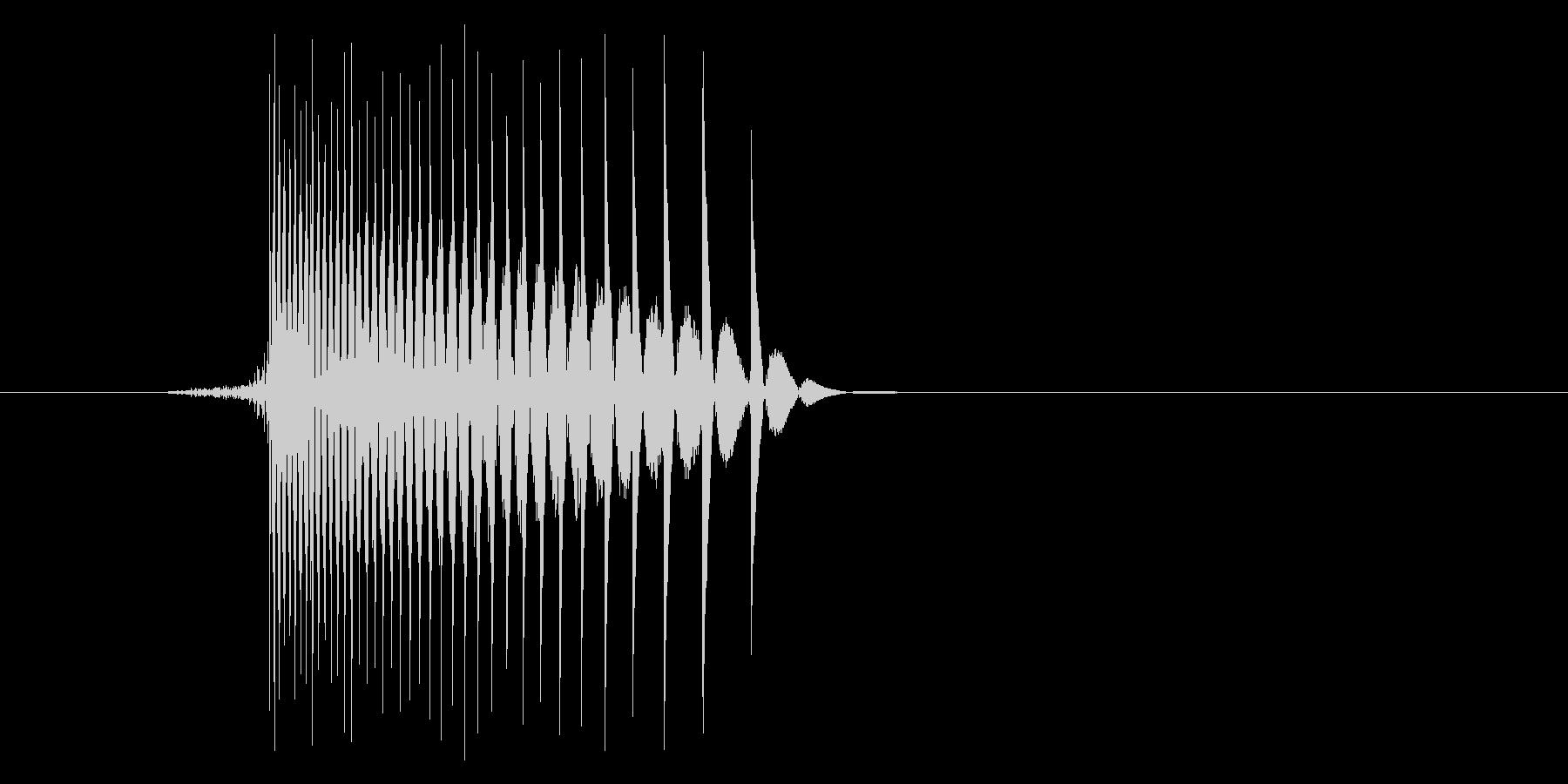 ゲーム(ファミコン風)レーザー音_020の未再生の波形
