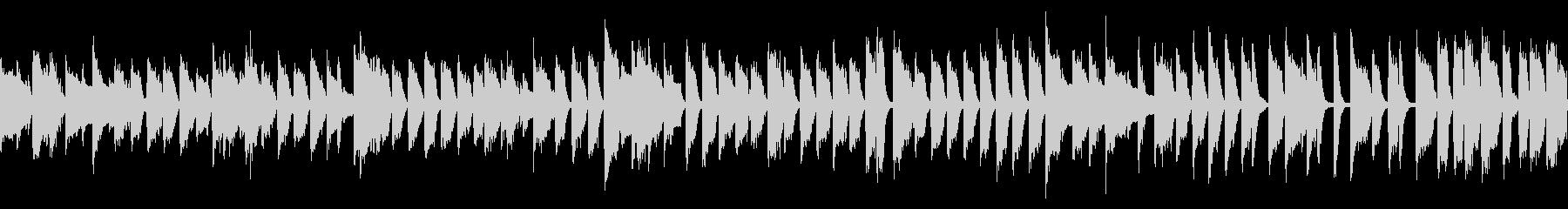 ジャジーなカフェBGM (ループ仕様)の未再生の波形