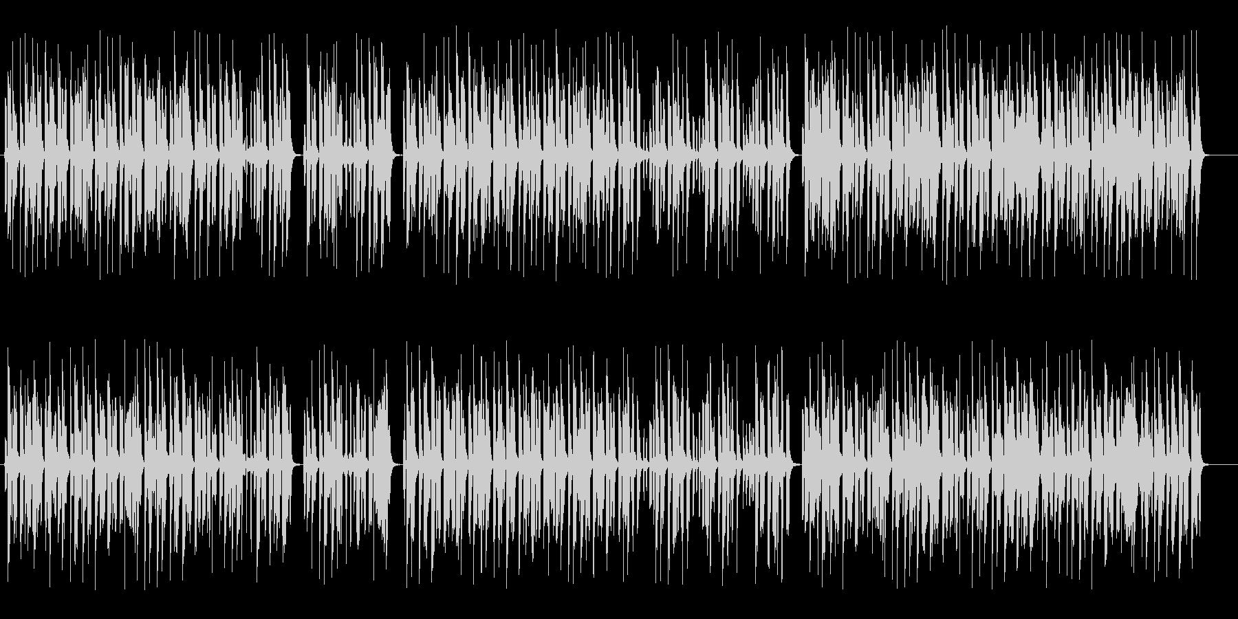 ゆったりおしゃれなシンセピアノサウンドの未再生の波形