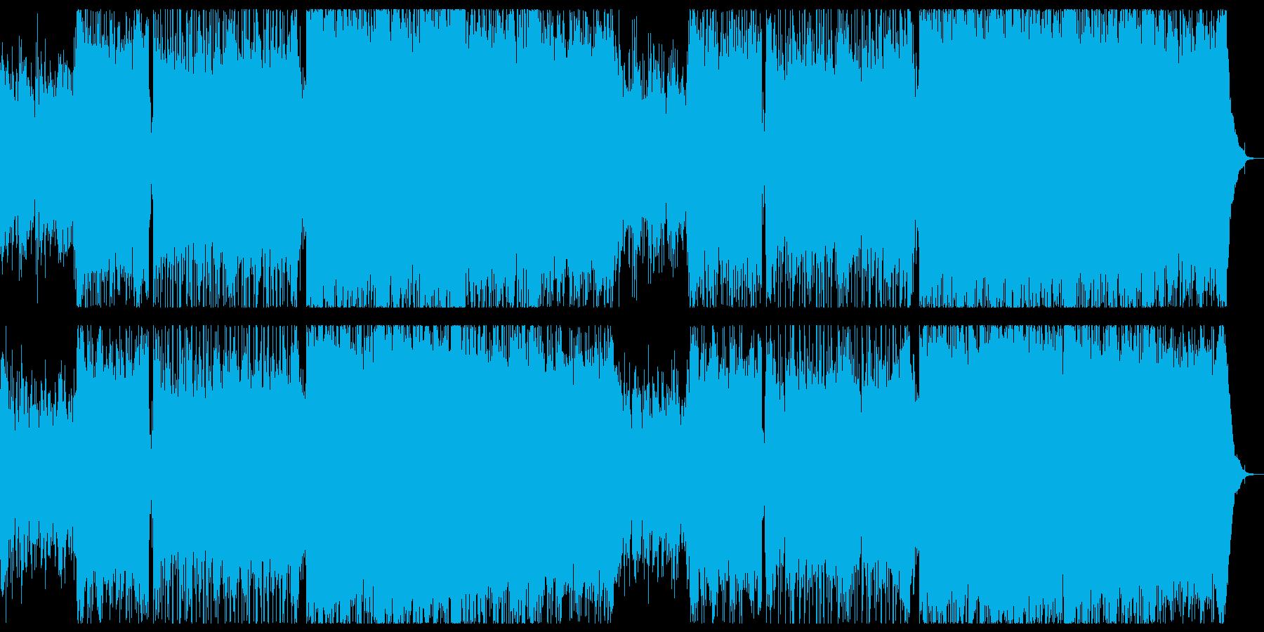 爽やかで感動的なギターエレクトロニカ。の再生済みの波形