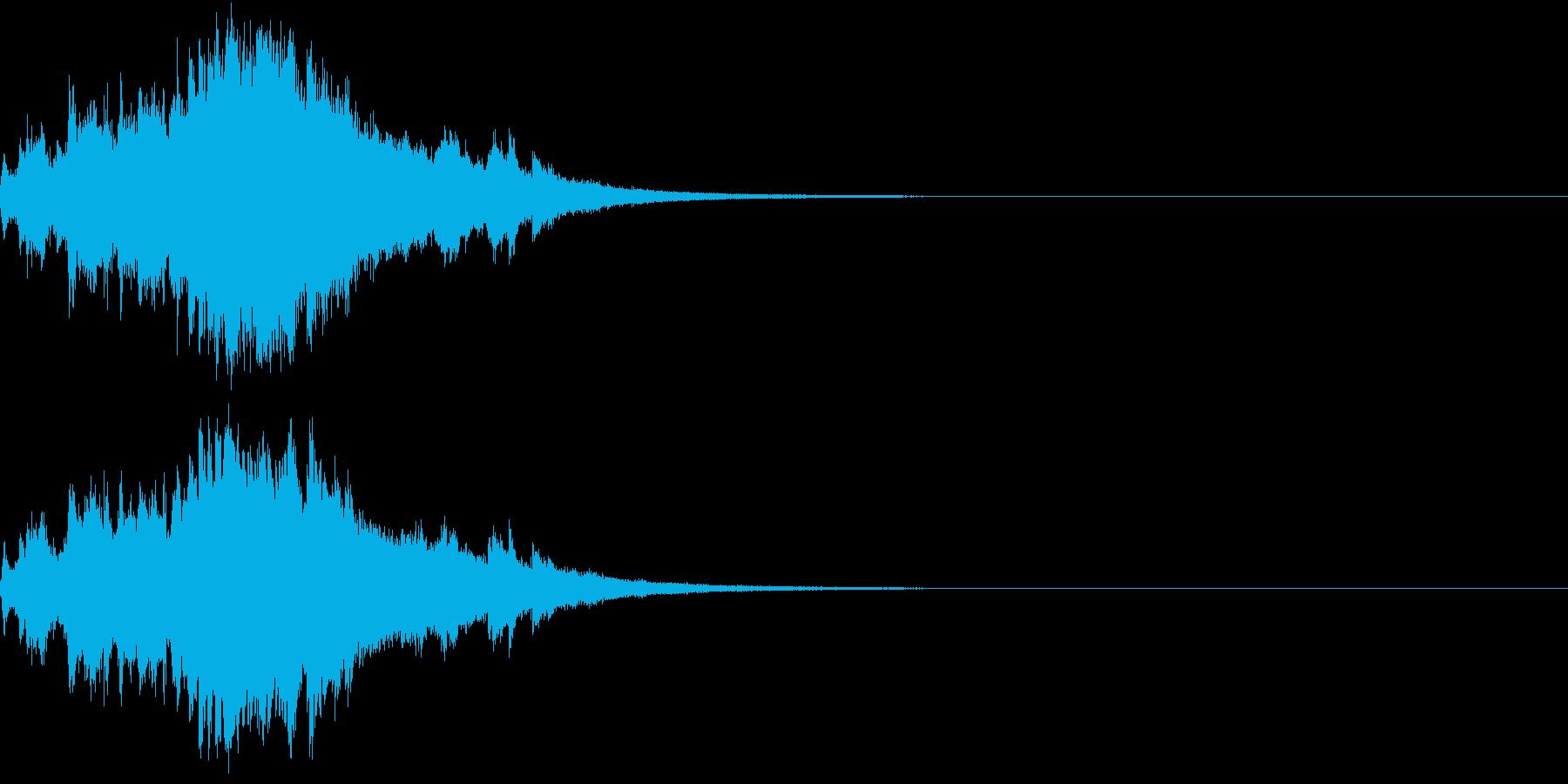 クリスマス ジングルベル キラキラ 08の再生済みの波形