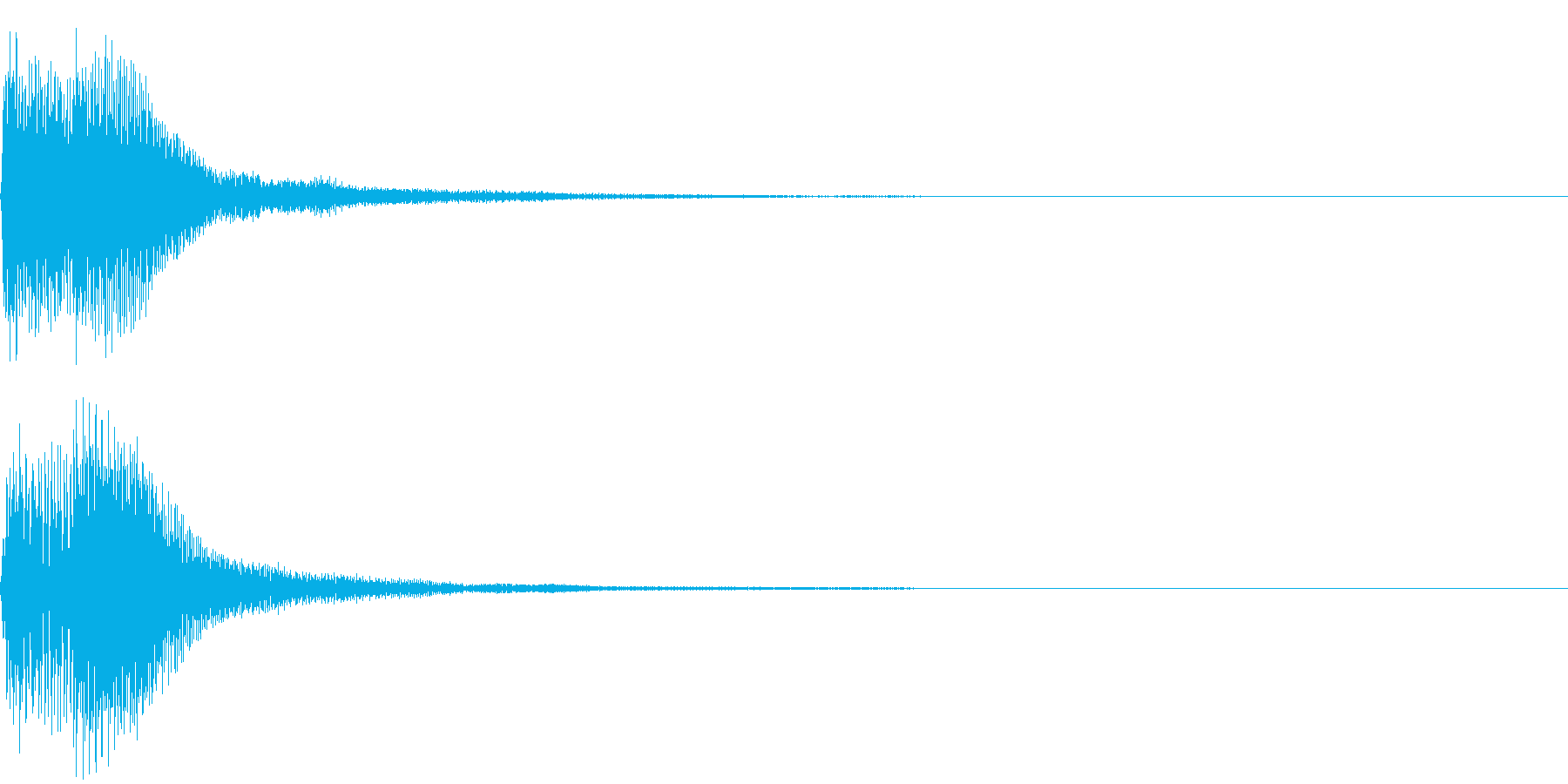 ズチャンーの再生済みの波形
