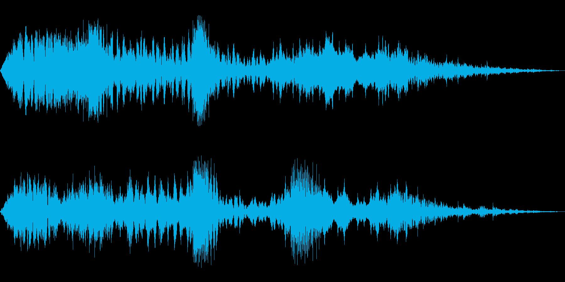 ドッドッ...(生命感あふれる環境音楽)の再生済みの波形