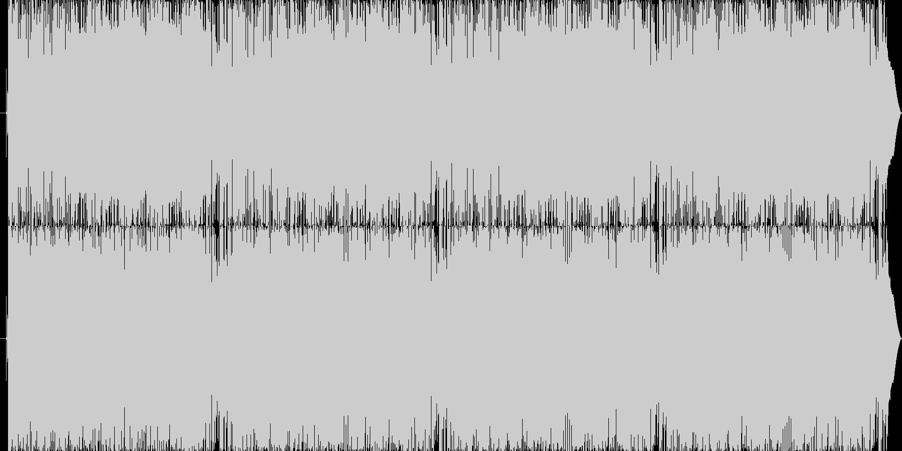 クラビのカッティング中心にリズムが絡むの未再生の波形