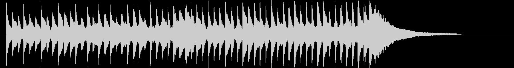 ピアノソロ 子供 遊び ナチュラル 自然の未再生の波形