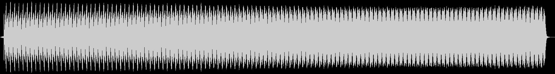 プー。クイズ不正解・ブザー音の未再生の波形