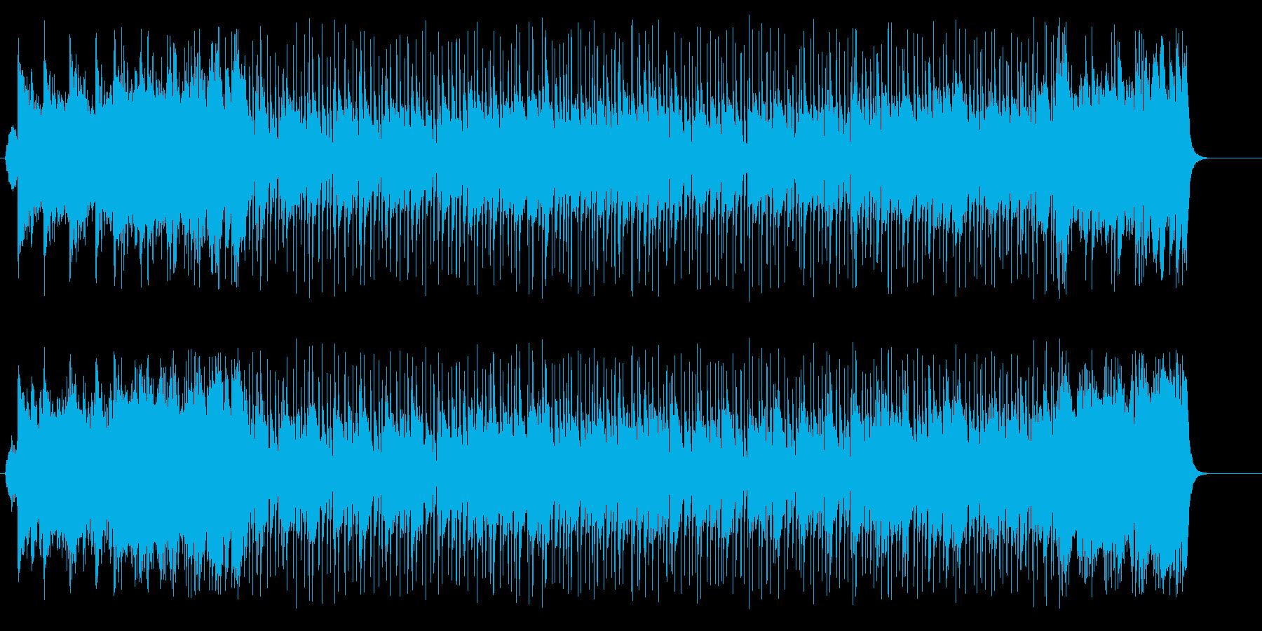 ときめきのティーン・エイジの再生済みの波形