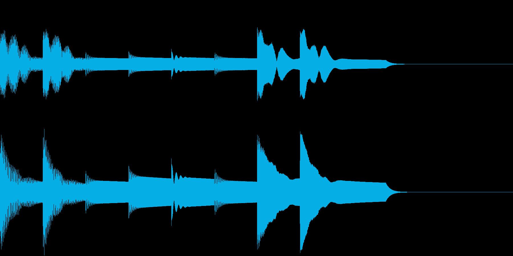シンプルなアラームです。ループ仕様。の再生済みの波形