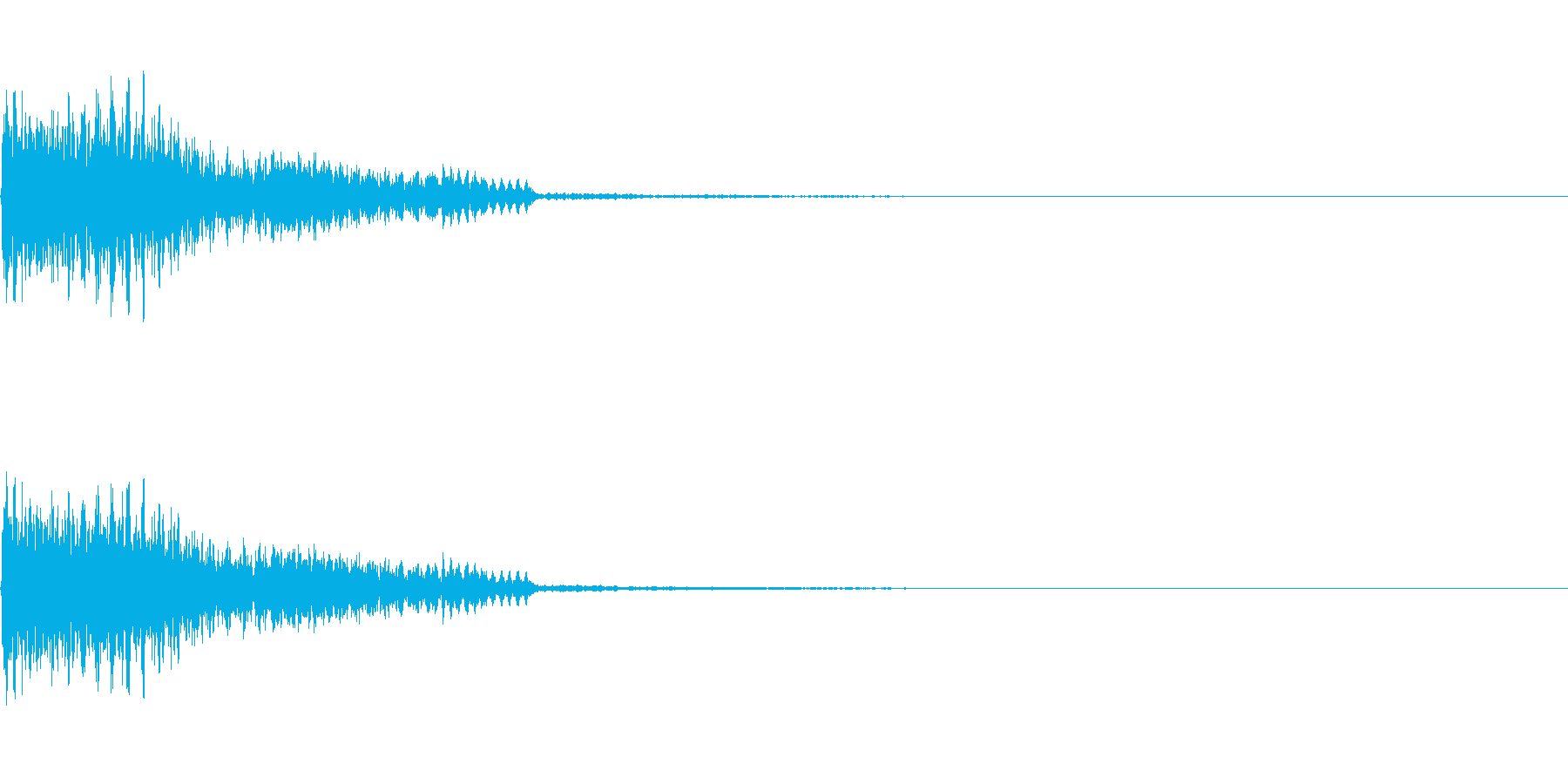 【SE 効果音】不安な音4の再生済みの波形