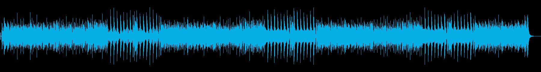 【生音】クランチギターのロックインストの再生済みの波形
