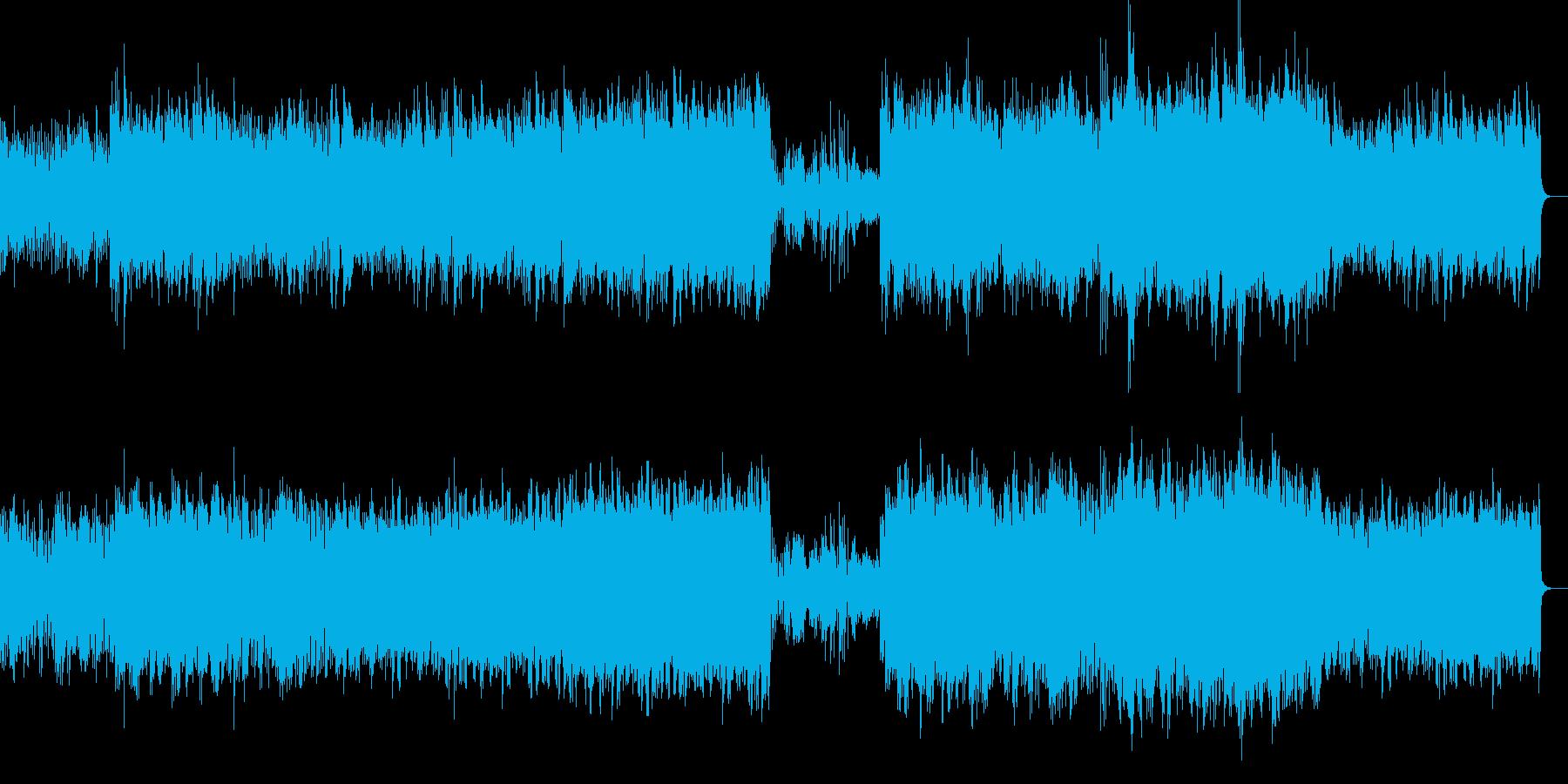 渓流のせせらぎをイメージしたピアノ曲ですの再生済みの波形