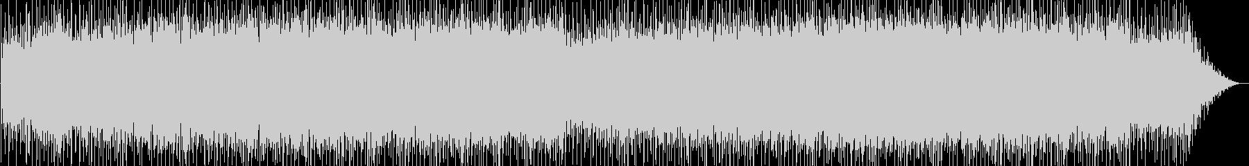 シリアス感のシンセポップテクノ系サウンドの未再生の波形