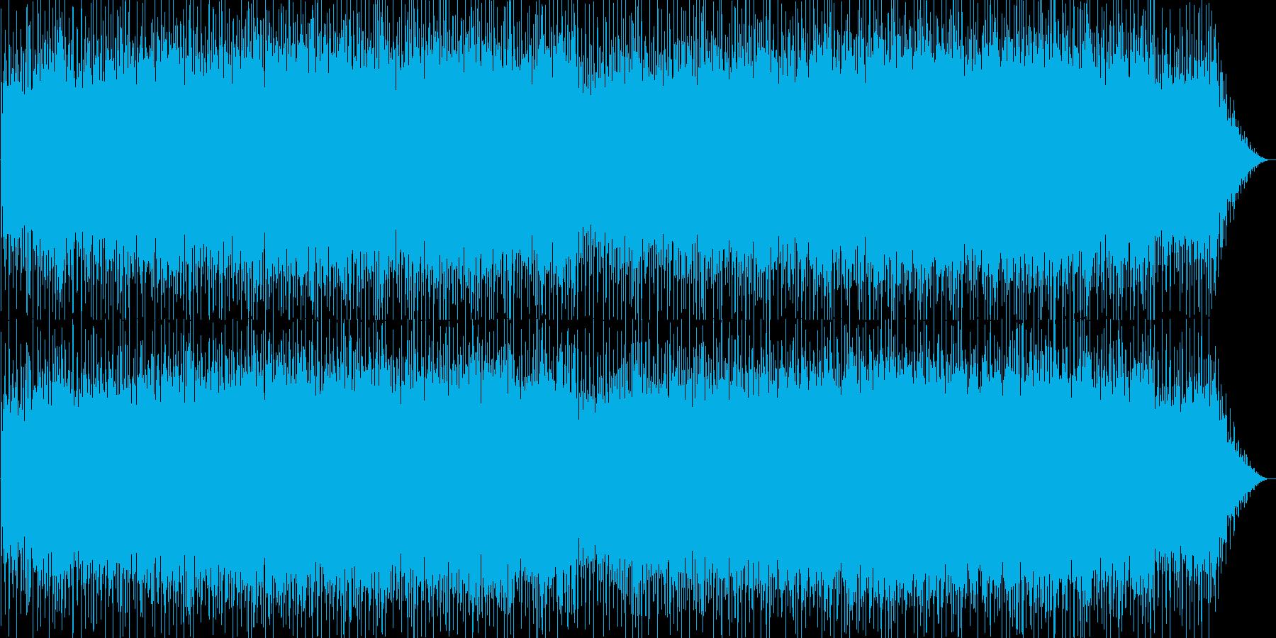 シリアス感のシンセポップテクノ系サウンドの再生済みの波形