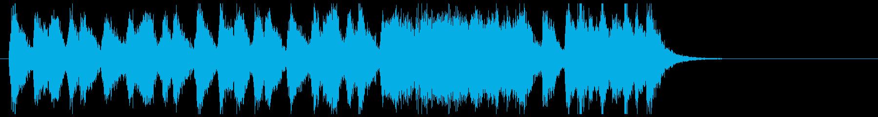 マーチドラム、緊張感のオーケストラの再生済みの波形