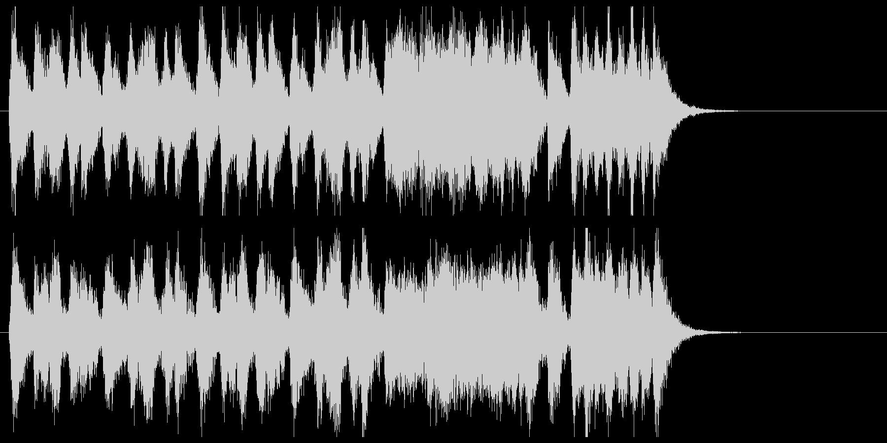 マーチドラム、緊張感のオーケストラの未再生の波形