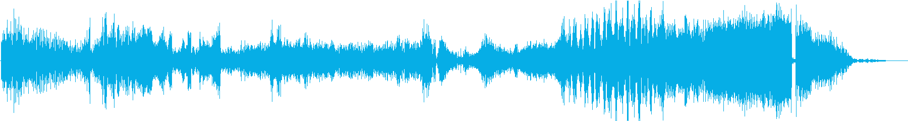 FMラジオ的ジングル2の再生済みの波形