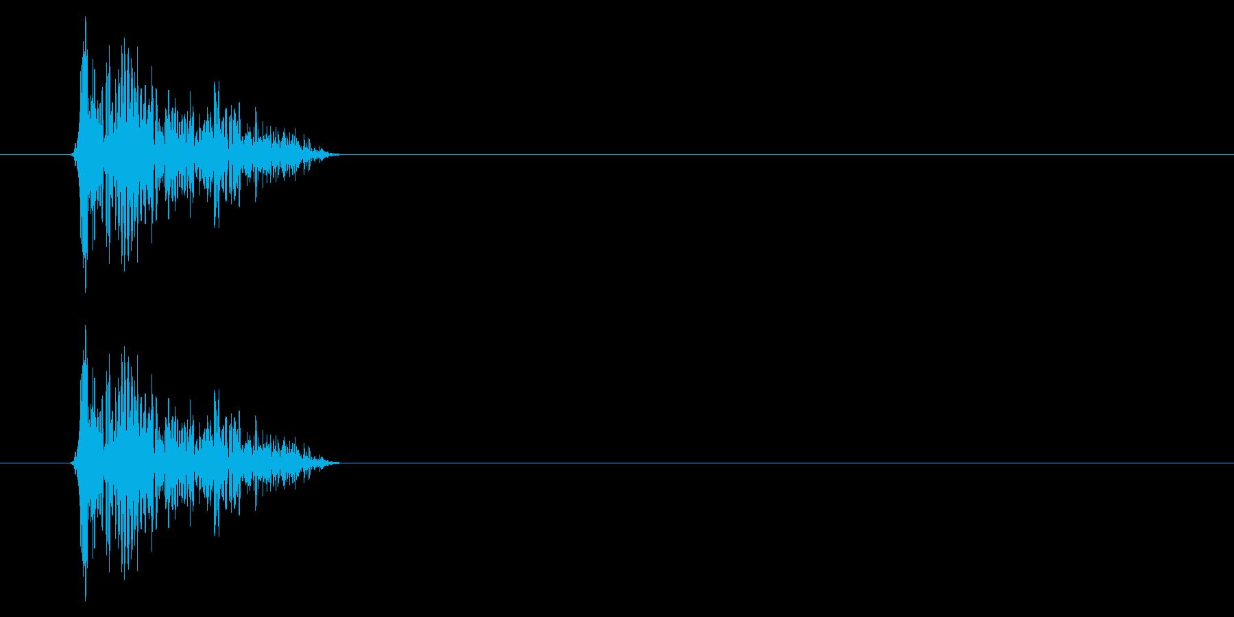 SNES-アクション01-08(衝撃)の再生済みの波形