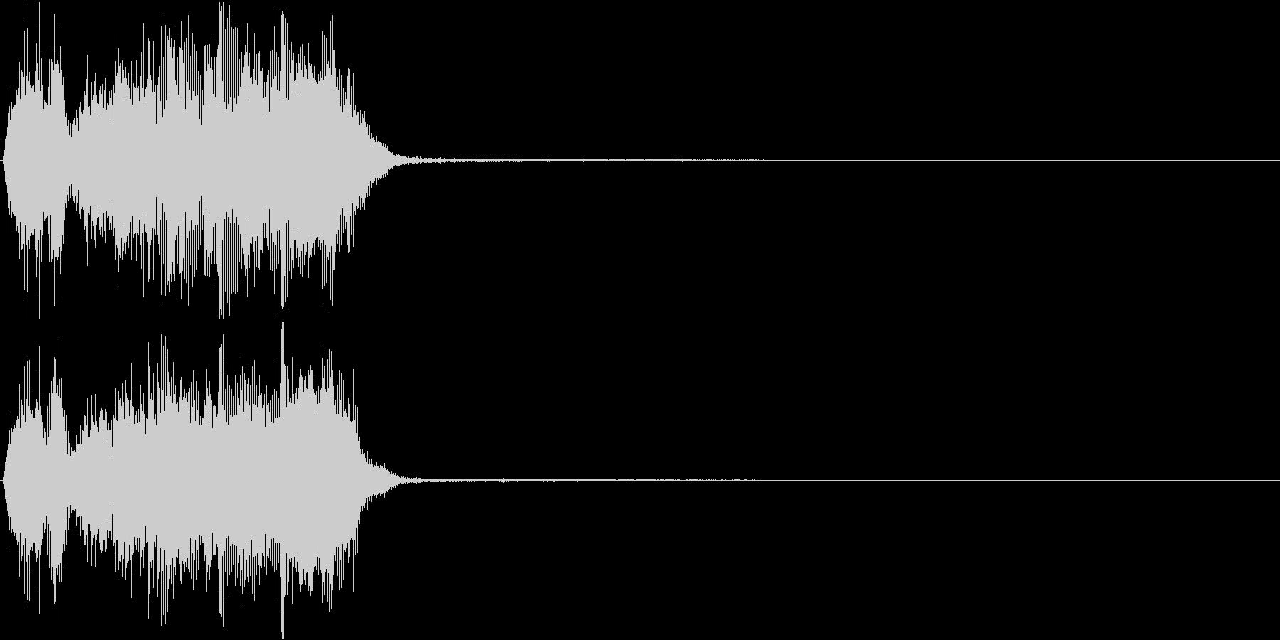 トランペット ファンファーレ 定番 19の未再生の波形