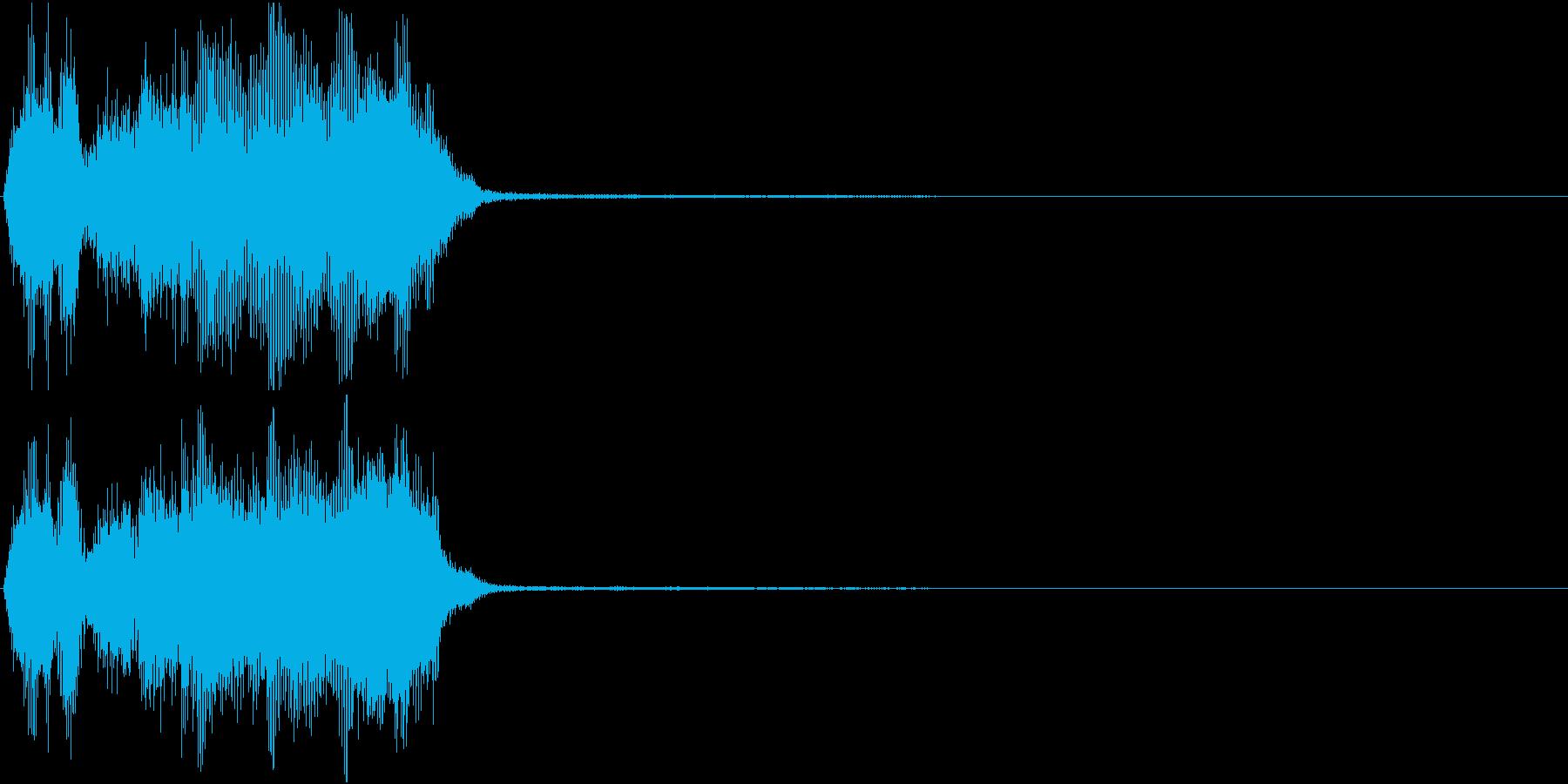 トランペット ファンファーレ 定番 19の再生済みの波形