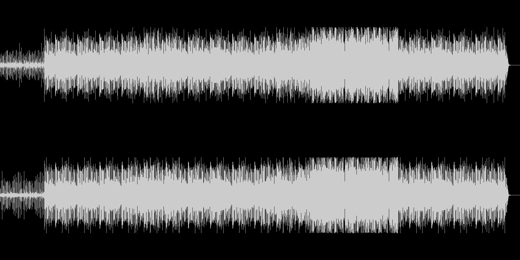 クールなHiphopサウンドの未再生の波形