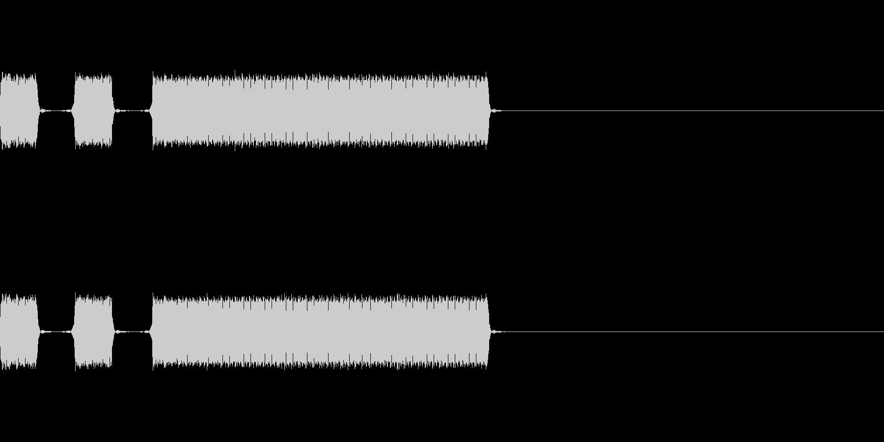 【不正解01-3】の未再生の波形
