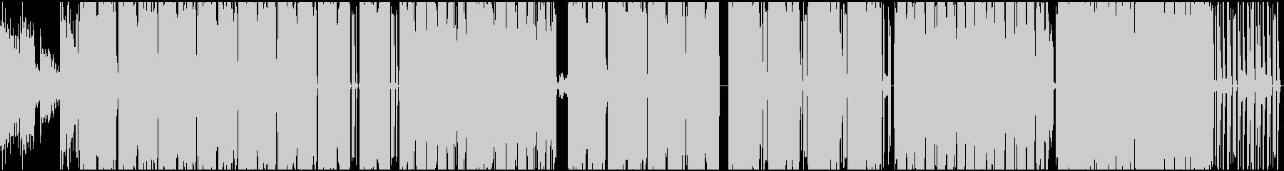 HIP HOP INST. 01の未再生の波形
