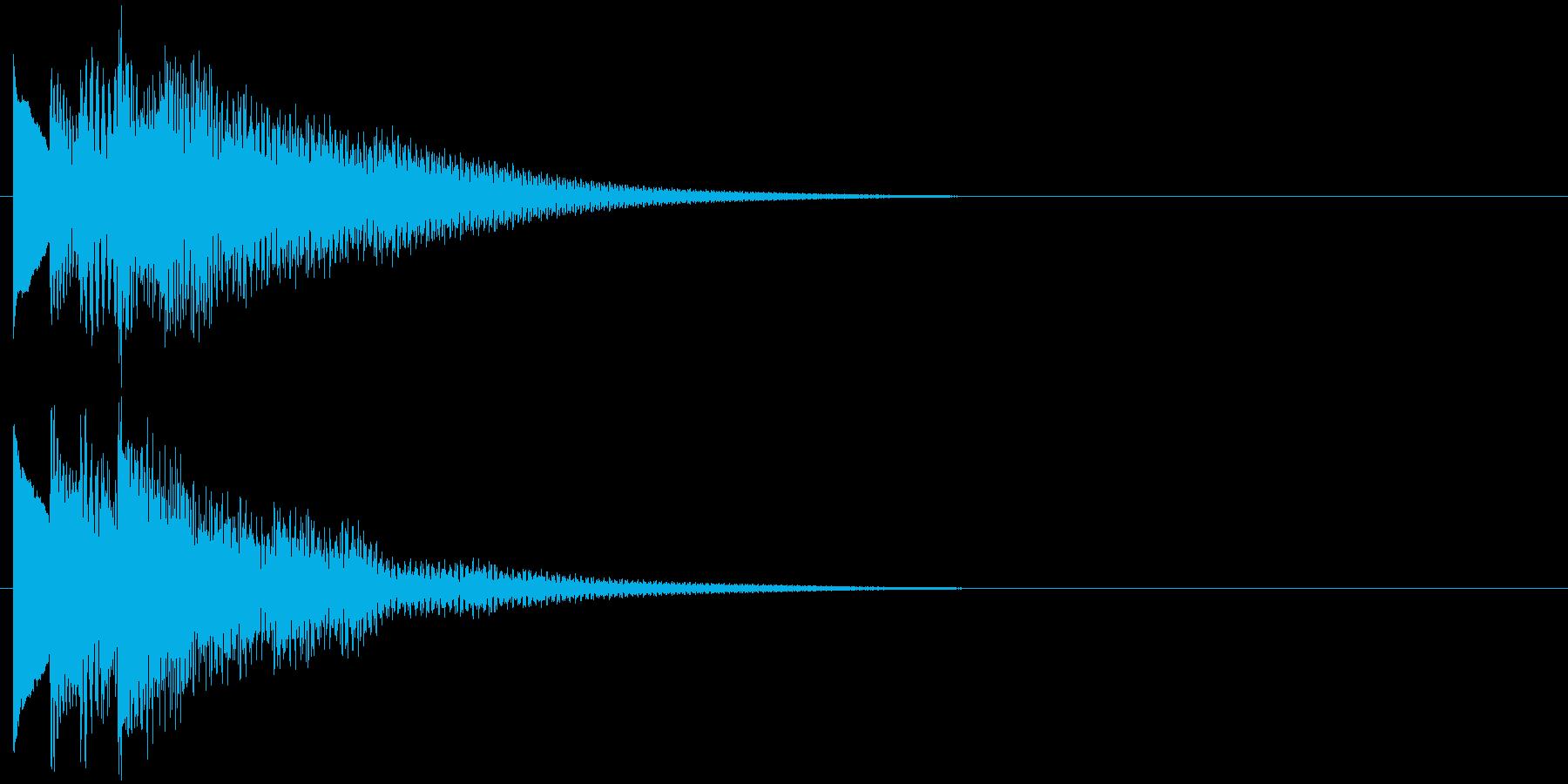 フレーズ系01 文字、スーパー表示(小)の再生済みの波形